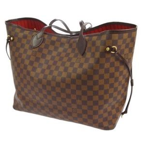 Authentic Louis Vuitton Damier Neverfull GM Tote